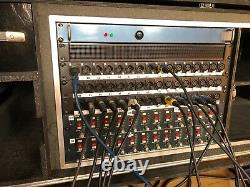 (24) SSL 4000 Series Mic Pre amps racked with power supply XLR IN/OUT