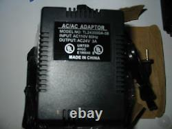 24 vac 3 amp CAMERA CCTV PTZ power supply transformer