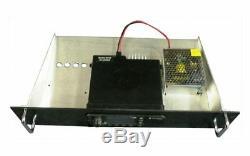3U RACK MOUNT for ICOM R-7100 Receiver With Speaker Plus 15 AMP Power Supply