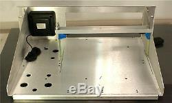 3U RACK MOUNT for KENWOOD TS590 With Speaker and 30 AMP AC Power Supply