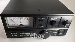 60 Amp 12v DELTA DPS60M AC/DC Power Supply with Volt AMP Meter Ham CB Radio