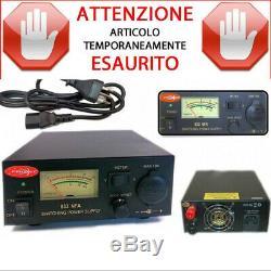 832-NFA ALIMENTATORE 32 Amp SWITCHING AD ALTA EFFICIENZA VOLTOMETRO/AMPEROMETRO