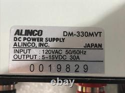 ALINCO DM-330MV Switching Power Supply 5-15VDC 30 Amps