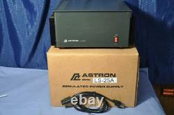 Astron LS-25A 28 Volt Power Supply 105-125VAC in to 28 Volt DC out 25 Amps ICS
