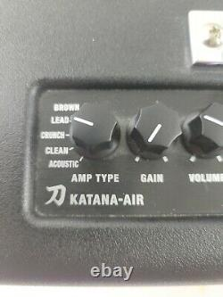 Boss Katana-Air 30W Wireless Electric Guitar Amp (No power supply & Untested)