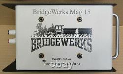 Bridgewerks MAG-15 15 Amp/300VA Deluxe Power Supply G-Gauge USED