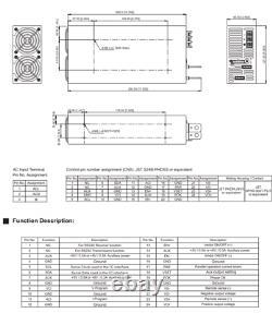 COTEK ME-1200-60 AC to DC Power Supply 60V 20 Amp 1200W