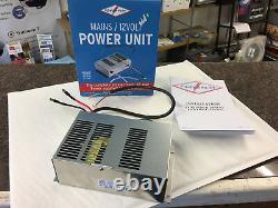 Caravan Mains 12v Power Supply Unit & Battery Charger Powerpart P116 10amp Ps167