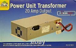 Caravan Mains 20 Amp Power Supply Battery Charger PS276 1 BCSM PO120