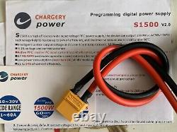 Chargery Power S1500 V2.0 60 Amp 1500W 10-30 VDC Power Supply