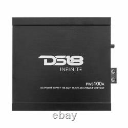 DS18 PWS100A AC 12V 10 to 16 Volt DC 100 Amp Power Converter RV Battery Charger