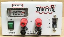 Digitrax PS2012 20-Amp N/HO/G Regulated Power Supply for DCC Systems LNIB