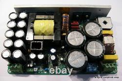 Dual Output Resonant 1600W / 84V Switched Mode Power Supply for Audio Amps