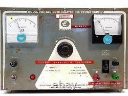 Electro 0-55 Volt 10 Amp Regulated DC Power Supply PSR-500-55