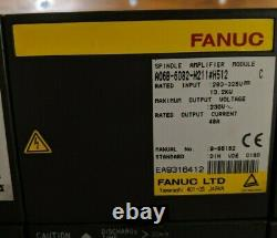 FANUC POWER SUPPLY MODULE + SPINDLE AMP MODULE + 3 AXIS SERVO AMP (see desc.)