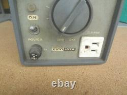 From Estate EICO 1078 Vintage Analog Variable AC Power Supply 117 VAC 8 Amp