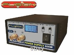 Fusion 5-15v 0-40amps 600W Adjustable Power Supply FS-PS600ADJ