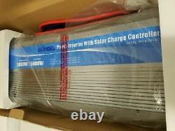 GIANDEL Power Inverter 3000With6000W 12V to 110V120V! With 20Amp Solar Controller