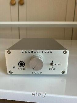 Graham Slee Solo headphone amp & PSU1 Power Supply