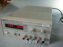 HP / Agilent E3620A Dual DC Power Supply, 0 to 25 Volts 1 Amp each LED displays