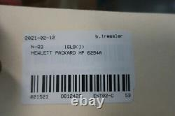 Hewlett Packard Hp 6294A Dc Power Supply 115/230v-ac 0-1a Amp 0-60v-dc
