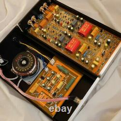 HiFi MM/MC Phono Preamp+Linear Power Supply Class A Phono Amp for Turntables