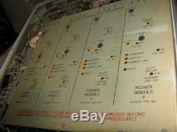 ITT Mackay HF Amplifier / Amp Power Supply Model MSR-6212 As Is, Read Details