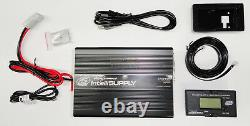 InetlliSUPPLY On Board AGM/Standard Battery Charger and Power Supply 30 AMP