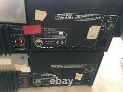 Ion Nexus MA40 Mono Power Amps With Power Supply TX750