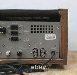 LUXMAN SQ-38F tube Stereo Intergrated Amplifier Vintage Audio Amp Power Supply