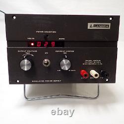 Lambda Lq-534 Lq534 Linear Regulated Power Supply, Digital 0-120vdc 1.7 Amp