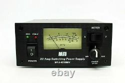 MFJ-4230MV 30 AMP Switching Power Supply with Meter, 4-16 Volts DC Adjustable FS