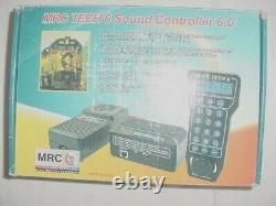 MRC Prodigy Tech 6 Sound Controller 6.0 DCC OR DC ALL SCALES 10 AMP POWER SUPPLY