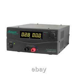 Manson 40Amp LED 3-15V DC Power Supply Lightweight Digital Bench Top Dark Grey
