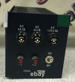McCurdy PS852 15 Volt, 6 Amp. Bipolar Power Supply