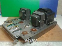 Meazzi Factotum Main Power Amp & Power Supply Needs Parts and Work Good Gen Cond