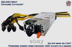 Mining Power Supply 1850 Watt True Rated Power