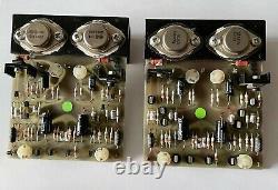 Naim Audio NAP250 Power Amp'Power Supply Boards