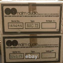 Naim HiCap Power Supply NAC 72 Pre Amp (Olive) Immaculate Condition Original Box