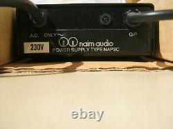 Naim NAPSC Netzteil Power supply unit for Naim pre amp NAC102/202/282
