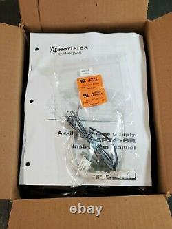 Notifier Aps2-6r 6 Amp 120 Vac Auxilary Power Supply Brand New In Original Box