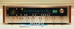 Pioneer QX-747 Receiver Recapped Power Supply, Amp, Protection-Works Perfectly