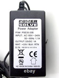 Power Solve Stairlift Type 33v DC 1amp Power Supply Stairlift Battery Charger