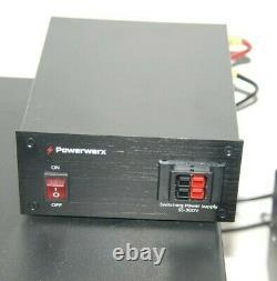 Powerwerx Ss-30dv 12 Volt 30 Amp DC Power Supply Ham Radio! It's What I Use