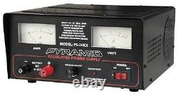 Pyramid Ps26kx 22-25 Amp Ac/dc Regulated Power Supply