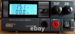 QJE switching mode DC power supply 13.8v 9-15v 30AMP Ham Radio Cb
