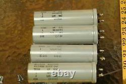 Quad 4pcs Western Electric KS 13686 125uf 400v 1960s for WE power supply and amp