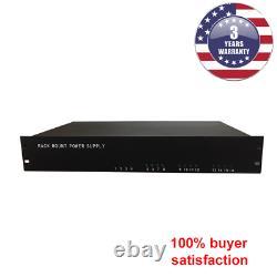Rack Mount CCTV Power Supply 16 Ports 20 Amp 12V DC Output