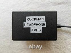 SR&D Regulated Power Supply for Rockman X100, Bass, & Soloist Amps New Caps/Cord