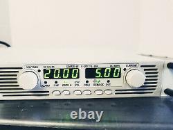 TDK Lambda (GEN750) GEN20-38/LN Power Supply 20VDC @ 38Amp, 750W Working